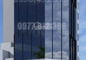 Cho thuê nhà mặt phố Cầu Giấy.Diện tích:270m2 x 9 tầng nổi ,2 tầng hầm,Mặt tiền lô góc 16m.Xây mới