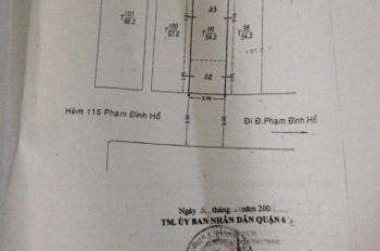 Chính chủ cần bán gấp căn nhà ở Phạm Đình Hổ, quận 6, sổ đầy đủ