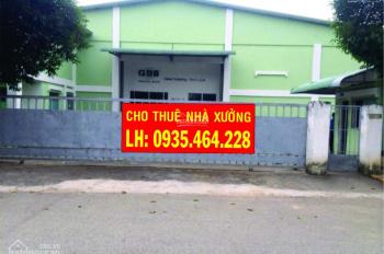 Xưởng cho thuê Bình Chánh diện tích 500m2-1000m2-2000m2-5000m2-15.000m2. LH: 0935 464 228 A.Thuận