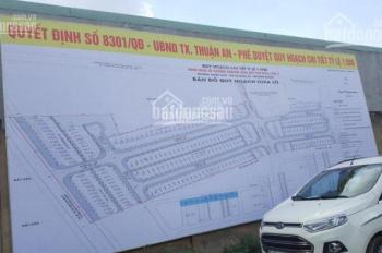 Bán đất ở đô thị Hòa Lân 2, TC 100% 80m2 giá 1,4 tỷ/nền bao GPXD sổ riêng từng nền. 0984.046.022