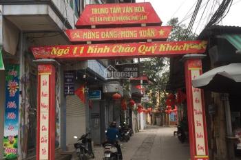 Cần bán đất sổ đỏ chính chủ ngõ 11 tổ 2 Phú Lãm, Hà Đông, 37.2m2, giá 850tr. LH: 0856961962