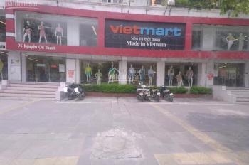Cho thuê nhà mặt phố Nguyễn Chí Thanh 175m2 x 2 tầng thông sàn đẹp MT 15m, LH 0941.298.397