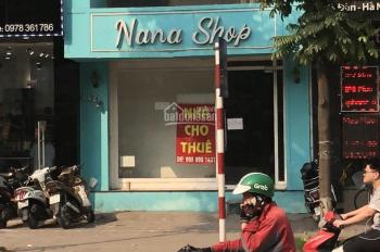 Cho thuê cửa hàng 80m2 x 2 tầng, mặt tiền 6,5m ở Lê Thanh Nghị, Bạch Mai, Hà Nội