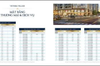 Bán shophouse Novaland Q2 - dự án Victoria Village Thạnh Mỹ Lợi, 8.4 tỷ
