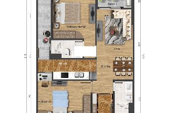 Bán căn hộ chung cư gần bến xe Mỹ Đình sắp bàn giao, full nội thất, giá hấp dẫn