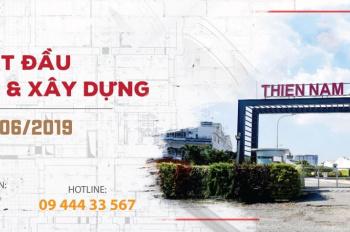 Bán nền đất DO-2.05 dự án Thiên Nam, giá 4,9 tỷ, tặng móng - Xây nhà ngay đón Tết