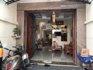 Bán nhà 2 mặt tiền hẻm, đường nhựa 6m, 1 trệt 2 lầu, 80m2