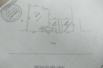 Bán lô đất mặt Đường Nguyễn Xiển, mặt tiền 8m liên hệ. 0962525290