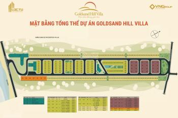 Nhượng lại các lô dãy H, P L 160m2 dự án Goldsand Hill Villa cam kết giá rẻ nhất T LH: 0912.485.991
