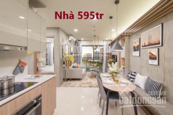 Nhà ở Bình Dương gần KDL Đại Nam, Tân Định, Bến Cát, giá chỉ 595tr SHR