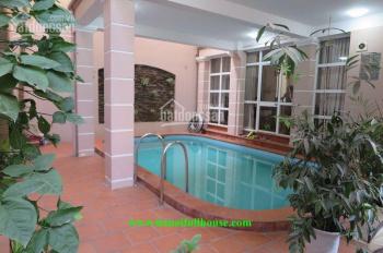 Cho thuê nhà sân vườn, bể bơi, 5 phòng ngủ, mới đẹp