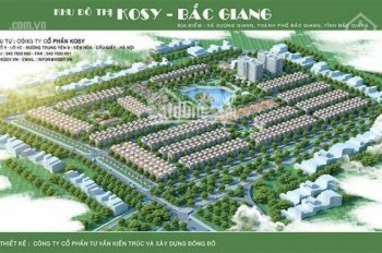 Chính thức mở bán đợt 2 các lô đẹp dự án Kosy Bắc Giang, giá hấp dẫn nhanh tay để chọn vị trí đẹp