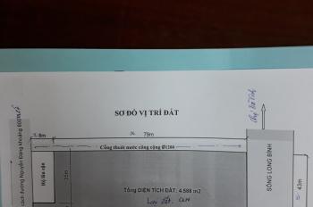 Bán gấp đất chính chủ 4588m2 gần chợ Trà Vinh. LH 0778061837