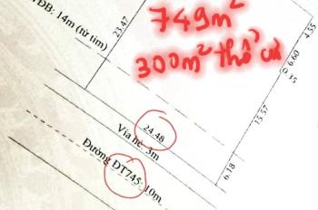 Cho thuê 749m2 nhà đất mặt tiền CMT8, Lái Thiêu, Thuận An, Bình Dương ngay dốc Đầu Truông, 50tr/th