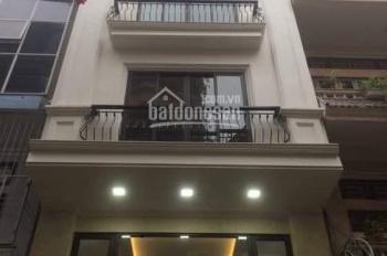 Cho thuê nhà ngõ 1 phố Phạm Tuấn Tài, DT 65m2 x 5,5 tầng, đầu ngõ rộng để nhiều ô tô và xe máy