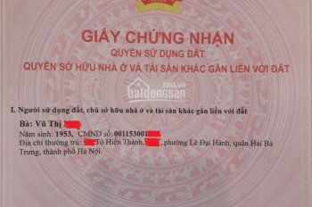 Bán nhà liền kề Green Pearl 378 Minh Khai - 74m2 - 13ỷ - 09.7989.0203