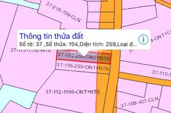 Chính chủ bán lô đất xã Đại Phước, Nhơn Trạch, giá 18tr/m2