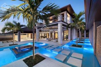Chính chủ bán căn BT ven sông Nine South, đủ nội thất cao cấp, tỷ hồ bơi riêng 0977771919