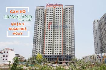 Cần bán gấp căn Homyland 3, 2PN, 2WC, 75m2 có ban công thoáng mát giá chỉ 2 tỷ 45. 0906685159