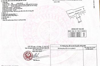 Bán đất nền đường Đào Sư Tích, xã Phước Kiển, huyện Nhà Bè. 0934 502 162 Lập