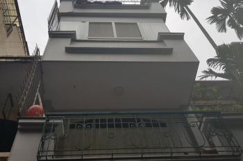 Bán nhà mặt ngõ kinh doanh được, DT 56m2, 4,5 tầng ngõ 31 Xuân Diệu, Tây Hồ, Hà Nội, vị trí gần hồ