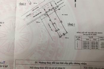 Bán đất hẻm 2 sẹc Trần Quốc Tuấn, P. 1, Gò Vấp, 56.2m2, 5.750 tỷ còn thương lượng