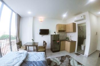Cho thuê căn hộ 1 phòng cao cấp đầy đủ tiện nghi Phan Văn Trị, P11, Bình Thạnh, giá 6 triệu/tháng