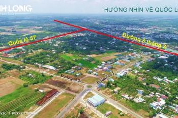 Đất nền sổ đỏ TP Vĩnh Long chỉ 850tr/ nền, giá gốc chủ đầu tư, hỗ trợ vay NH, 0907495649