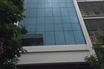 Cho thuê tòa nhà KĐT Mỗ Lao, Hà Đông, Hà Nội. DT 90m2, 7 tầng nổi, 1 hầm, MT 6m, giá 45tr/th