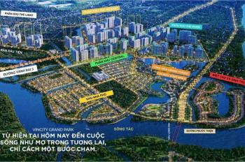 Cơ hội sở hữu căn hộ của Vinhomes Grand Park, hiện đang nhận đặt cọc thiện chí cho khách đầu tư