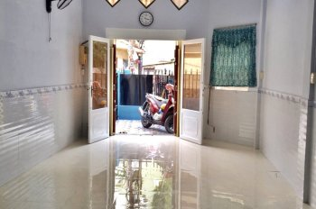 Chính chủ kẹt tiền bán gấp nhà 1 sẹc đường Nguyễn Phạm Tuân Q6, hẻm xe hơi 4m, sổ hồng riêng