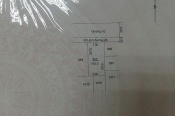 Bán đất đường H2 Khu Licogi Phường 1, Tp. Cà Mau LH: 0946623963