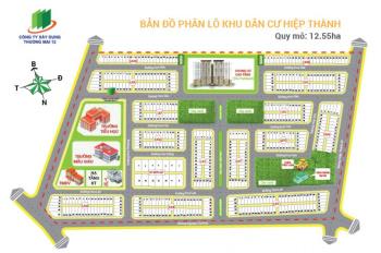 Bán gấp lô đất KDC Hiệp Thành City trung tâm Q12, 100m2, chỉ 25tr/m2, SHR. LH 0922011001 Đạt