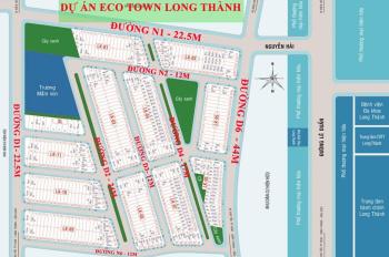 Chỉ 790 triệu, CK 2% - Eco Town Long Thành, công bố bảng giá gốc chủ đầu tư, PKD 0934 108 361