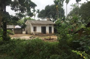 Cần bán 1080m2 đất ở làm trang trại nhà vườn, khu nghỉ dưỡng cuối tuần Xã Cổ Đông, TX Sơn Tây, HN