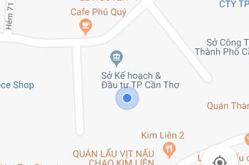 Bán nền thổ cư đường Trần Bình Trọng, quận Ninh Kiều, TP Cần Thơ