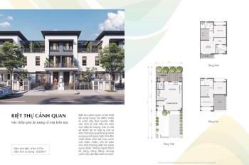 Chính chủ bán nhà phố Swan Park, giá chỉ từ 2,450 tỷ, DT 107m2, liên hệ 0909350622