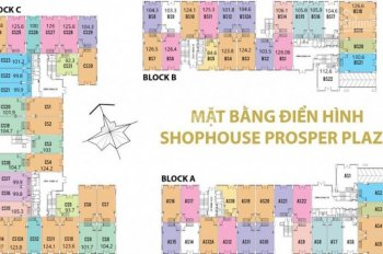 Mở bán đợt shophouse Prosper Plaza, Q. 12 - CK ngay 269 triệu và 10 chỉ vàng - Nhận nhà KD ngay
