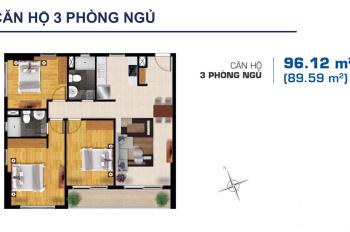 Cần bán căn hộ cao cấp 3PN 96m2 MT Mai Chí Thọ, ngay Sala. Giá 4 tỷ