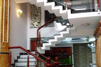Bán nhà liền kề nội bộ tại đường Số 1, P16, Gò Vấp, đúc kiên cố, giá 7,9 tỷ full nội thất gỗ