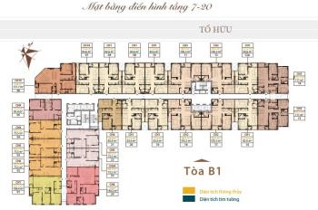 Chính chủ cần tiền bán CH Roman Plaza, T1519 - B1, DT 77,6m2, giá: 28tr/m2. LH 0934485810
