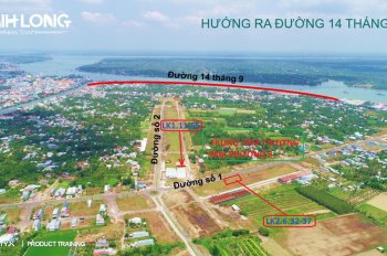 Chính chủ cần bán đất mặt tiền đường Số 7, Phường 5, Vĩnh Long. KDC Minh Linh - Hưng Thịnh