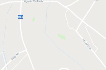 Đất thổ cư SHR mặt tiền đường Hương Lộ 2, trung lập hạ. DT 1400m2, giá rẻ