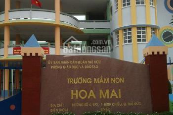 Bán đất MT Ngô Chí Quốc, Thủ Đức chỉ 26tr/m2 - 80m2, SHR, dân cư đông tiện KD, LH 0933303242