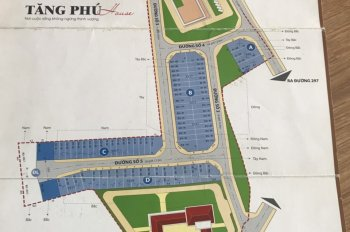 Cần bán đất nền dự án Tăng Nhơn Phú House, Phước Long B, Q9, DT 7*18m, giá 52tr/m2, LH 0977768378
