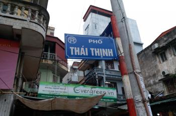 Nhà đoạn đẹp mặt phố Thái Thịnh - Đống Đa, DT 75m2 x 3 tầng, MT 5m, giá chỉ 58 triệu/tháng