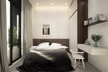 Bán nhà mới trệt, lầu, 2 mặt tiền Cồn Khương, giá 3.5 tỷ