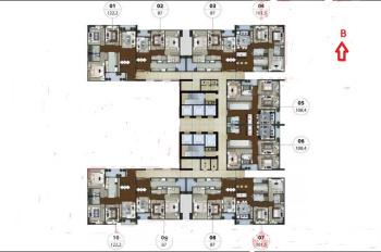 Bán căn hộ 06 chung cư N01T5 Ngoại Giao Đoàn, 108m2, 3 PN, hướng Đông, giá 32 tr/m2