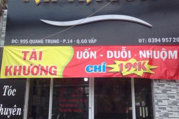 Cần cho thuê gấp salon tóc hoặc mặt bằng 995 Quang Trung - Gò Vấp