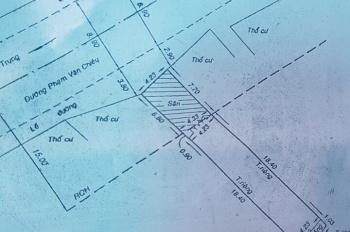 Mặt nhà tiền Phạm Văn Chiêu, P9, GV, DT: 4,3 x 26m, giá: 12 tỷ, LH: 0909677159 Chị Hiền
